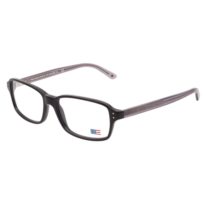 74b05239bcc3 Shop Lexington 4145 9501 Black Prescription Eyeglasses - Free Shipping  Today - Overstock.com - 10477524