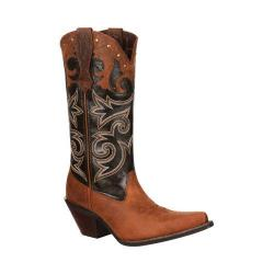 Women's Durango Boot DRD0066 12in Underlay Crush Distressed Brown Leather