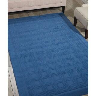 Nourison Westport Blue Rug (5 x 8)