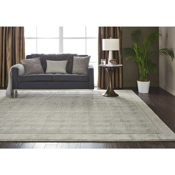 Nourison Westport Grey Rug (8 x 10'6) - 8' x 10'6