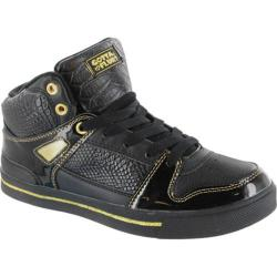 Women's Gotta Flurt Hip Hop 2 Black/Gold Synthetic