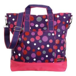 Women's Hadaki by Kalencom French Market Tote Bouncing Balls Berry