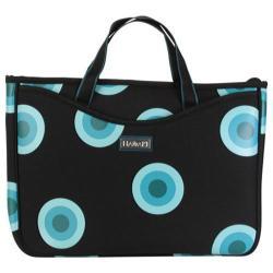 Women's Hadaki by Kalencom Neoprene 15.4 Laptop Sleeve/Tote O'Bubbles Blue