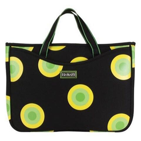Women's Hadaki by Kalencom Neoprene 15.4 Laptop Sleeve/Tote O'Bubbles Yellow