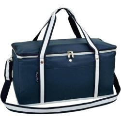 Picnic At Ascot Folding Navy Blue 72-Can Cooler