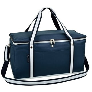 Picnic at Ascot Navy Canvas Ultimate Day Collapsible Cooler