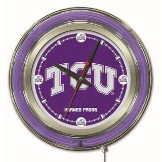 Holland Big 12-inch Logo Neon Clock