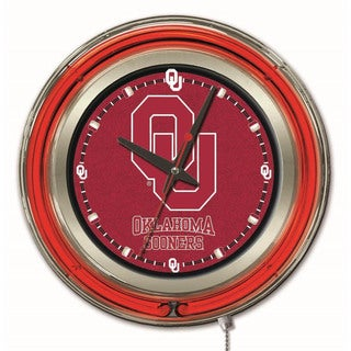 Holland Big 12-inch Logo Neon Clock