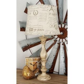 Polystone 34-inch Table Lamp