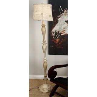 Polystone 64-inch Floor Lamp