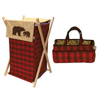 Trend Lab Northwoods 5 Piece Crib Bedding Set Free