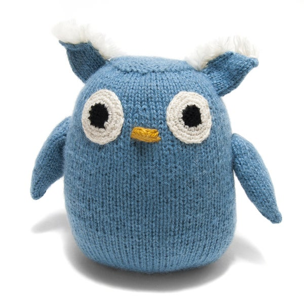 Handmade Stuffed Owl Toy (Peru)