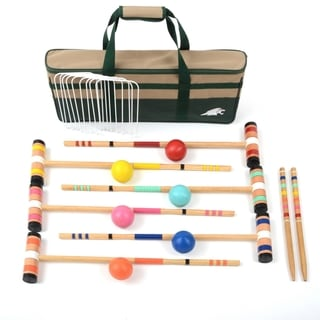 "Lion Sports Select 6 Player 26"" Croquet Set"