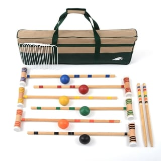 "Lion Sports Premier 6 Player 28"" Croquet Set"
