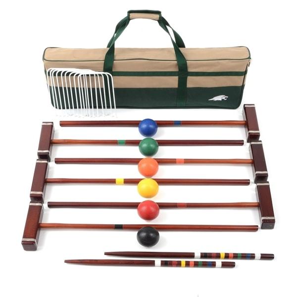 Lion Sports Platinum 6 Player 33-inch Croquet Set