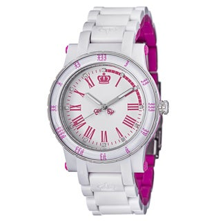Juicy Couture Women's 1900750 'HRH' Two-tone Steel and Plastic Watch
