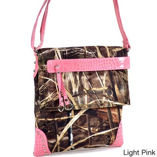 Link to Realtree Camouflage Messenger Bag with Tassel and Stud Accents Similar Items in Shop By Style
