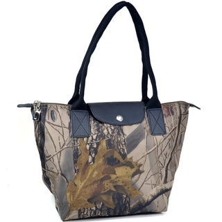 Realtree Camouflage and Black Tote Bag