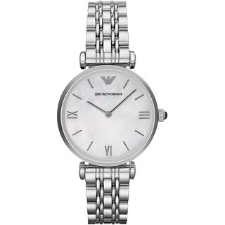 Armani Women's AR1682 Small Round Bracelet Watch