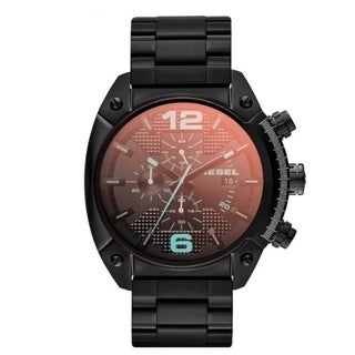 Diesel Men's DZ4316 Overflow Chronograph Black Watch
