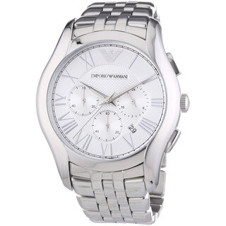 Emporio Armani Men's AR1702 Valente Chronograph Stainless Steel Watch