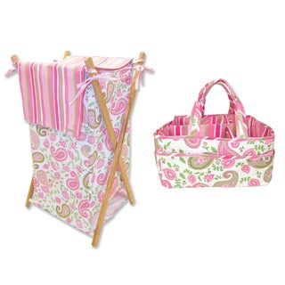 Trend Lab 2-piece Storage Set in Paisley