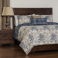 Havenside Home Okaloosa Reversible 4-piece Duvet Cover Set
