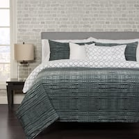 Interweave 4-piece Duvet Cover Set