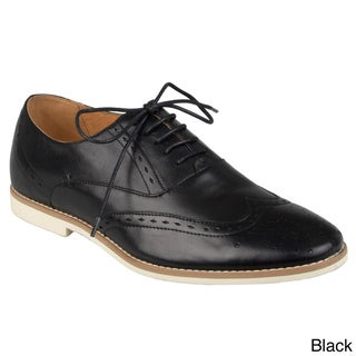 Steve Madden Men's 'Bolten' Leather Wingtip Oxfords