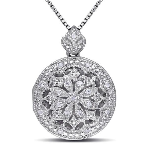 14 Simple Diamond Locket Designs For Women Styles At Life