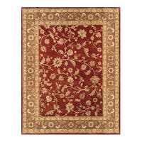 Grand Bazaar Hand-Tufted Wool Area Rug in Red Chocolate (9'6 x 13'6)