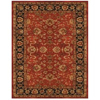 Grand Bazaar Dubois Red/ Navy Area Rug - 9'3 x 13'