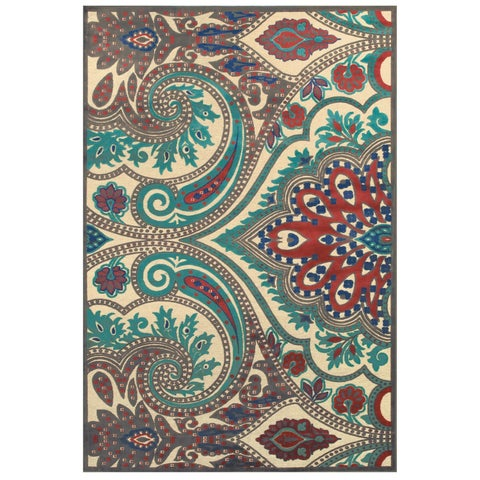 "Grand Bazaar Azize 570R-3271 Cream / Nutmeg Area Rug - 7'6"" x 10'6"""