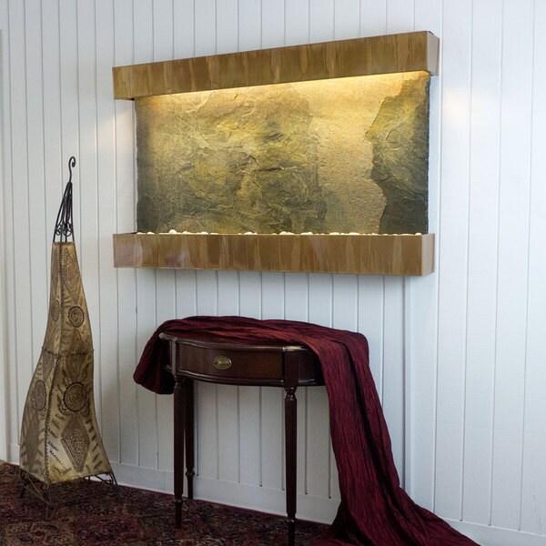 Jeera Slate Horizon Falls Classic Large with Copper Patina Trim