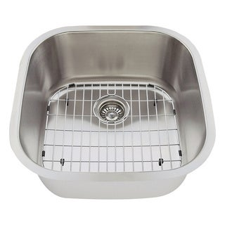 The Polaris Sinks P0202 18-gauge Kitchen Ensemble