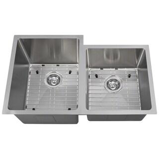 The Polaris Sinks P0213L 18-gauge Kitchen Ensemble