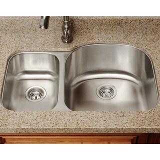 The Polaris Sinks PR1213-18-gauge Kitchen Ensemble
