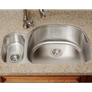 The Polaris Sinks PR123-16-gauge Kitchen Ensemble