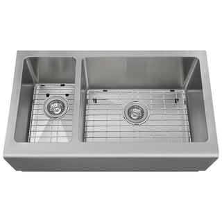 The Polaris Sinks PR704 16-gauge Kitchen Ensemble