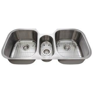 The Polaris Sinks P1254 16-gauge Kitchen Ensemble