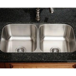 The Polaris Sinks PA205 18-gauge Kitchen Ensemble