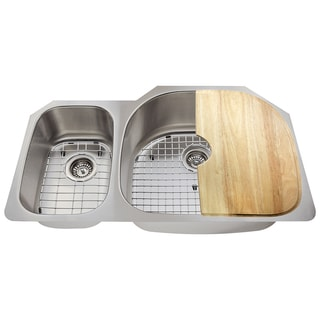 The Polaris Sinks PR905 16-gauge Kitchen Ensemble