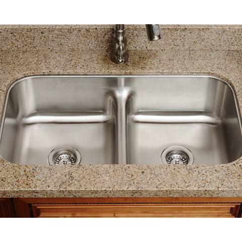 The Polaris Sinks P215 18-gauge Kitchen Ensemble