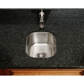 The Polaris Sinks P2151 18-gauge Kitchen Ensemble