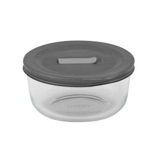 Pyrex No-leak Lids Round Baking Dish