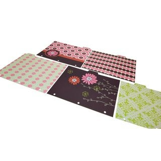 Wilson Jones W31505 Recycled Bliss Decorated File Folders (Pack of 6)