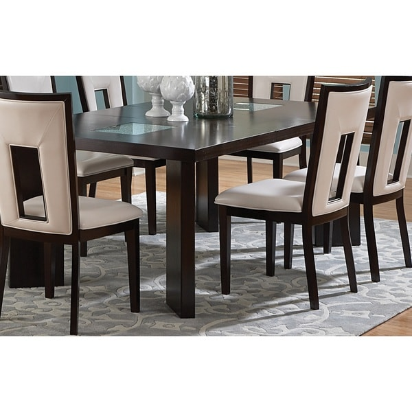 Domino 65 foot Espresso Dining Table by Greyson Living Free