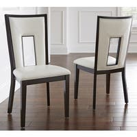 Oliver & James Ettinger Cream Dining Chair (Set of 2)