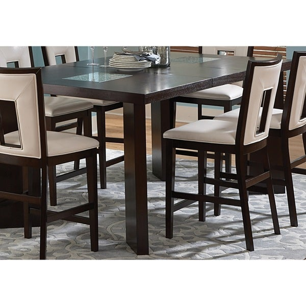 Greyson Living Domino Counter Height Espresso Dining Table Free