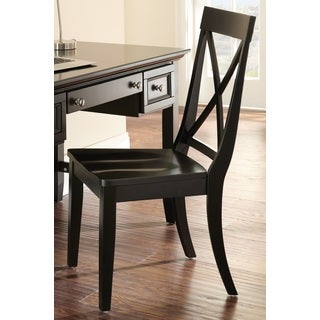 Olsen Black Desk Chair by Greyson Living